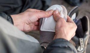 Yaktrax Adhesive Toe Warmers 2pc