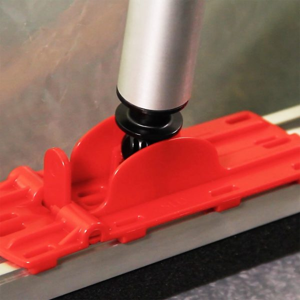 ZipWall Floor Adaptor For 12' SLP Aluminum Poles - FA12