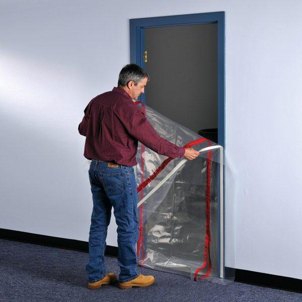ZipWall ZipDoor Commercial Doorway Kit - ZDC