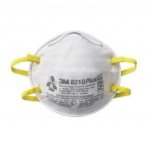 3M Dust Mask 8210 (Pack of 20)