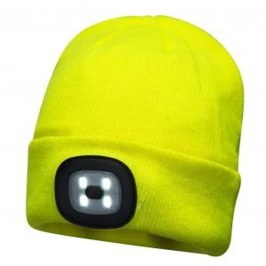 Beanie Led Head Light Yellow