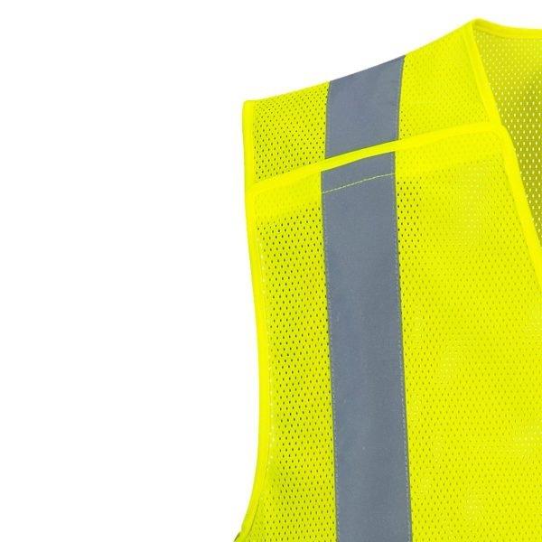 Economy Mesh Break-Away Vest Yellow