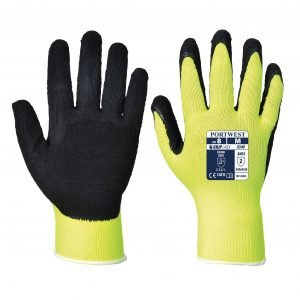 Hi-Vis Grip Glove Yellow