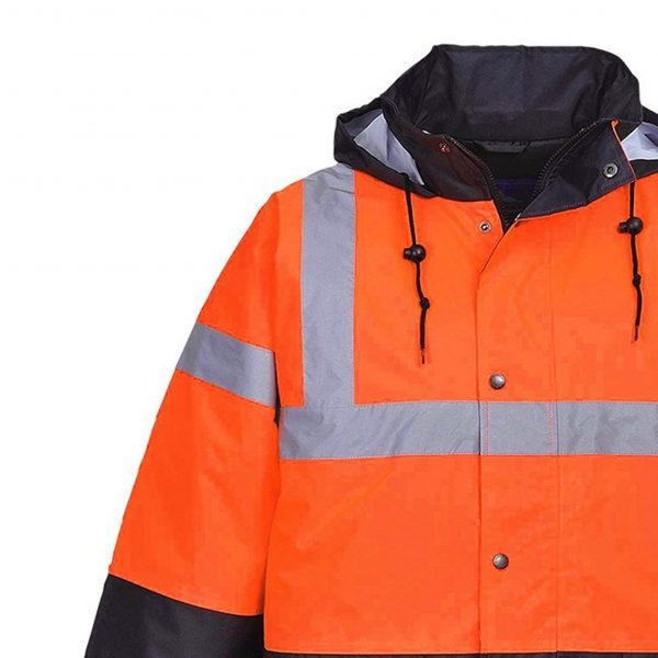 Twotone Traffic Jacket Orange / Black