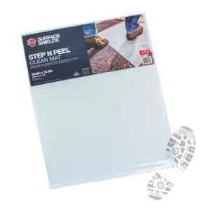 Step N' Peel Reusable Tacky Clean Mat 24