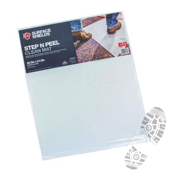 "Step N' Peel Reusable Tacky Clean Mat 24"" x 30"" (30 Mats)"