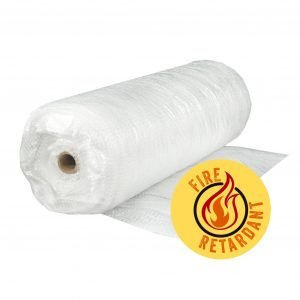 Strong Man 6 mil. 20 ft. x 100 ft. Fire Rated String Reinforced Scaffold Wrap