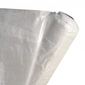 Strong Man 6 mil. 10 ft. x 100 ft. Fire Rated Woven Reinforced Scaffold Wrap