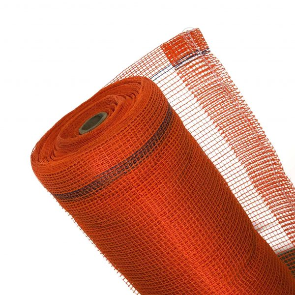 Orange Fire Rated Debris Netting Orange - 4 ft. x 150 ft.