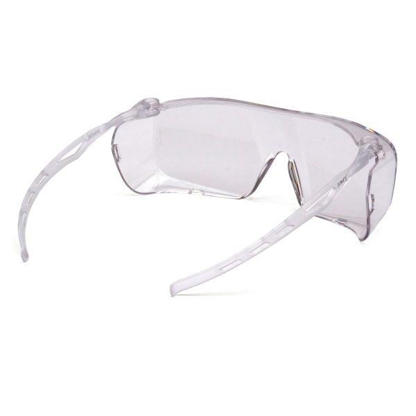 Pyramex Cappture OTG Clear Anti-Fog Glasses