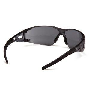 Pyramex FYXATE Gray Lens Safety Glasses Black