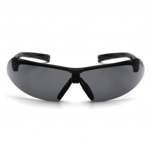 Pyramex ONIX Gray Lens Safety Glasses Black & Gray