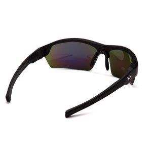 Pyramex TENSAW Polarized Glasses Black Frame Green Lens