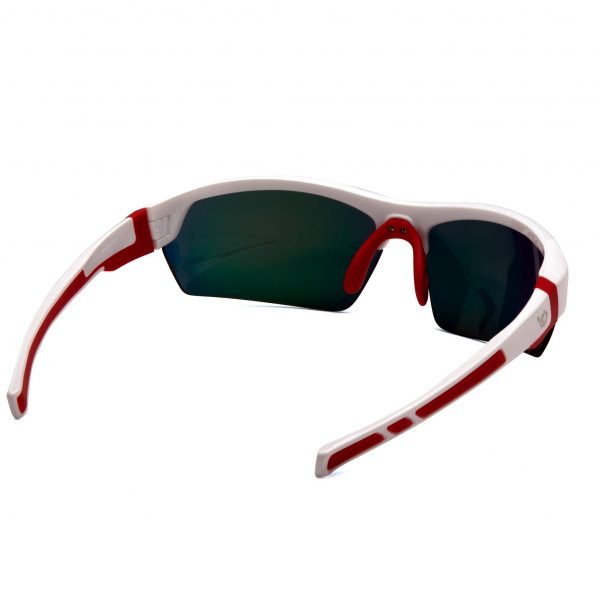 Pyramex TENSAW Polarized Safety Glasses Red & White