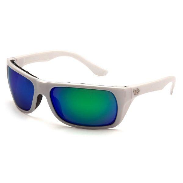Pyramex VALLEJO Polarized Safety Glasses Blue & White