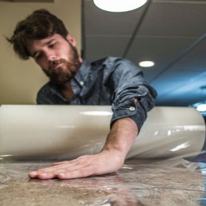 Marble Shield Self-Adhesive Film