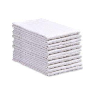White Terry Towel - 12 Pk