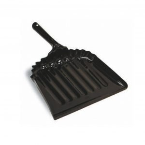 """12"""" Black Metal Dust Pan"""