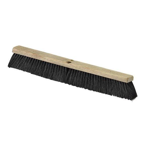"""Black 24"""" Floor Push Broom"""