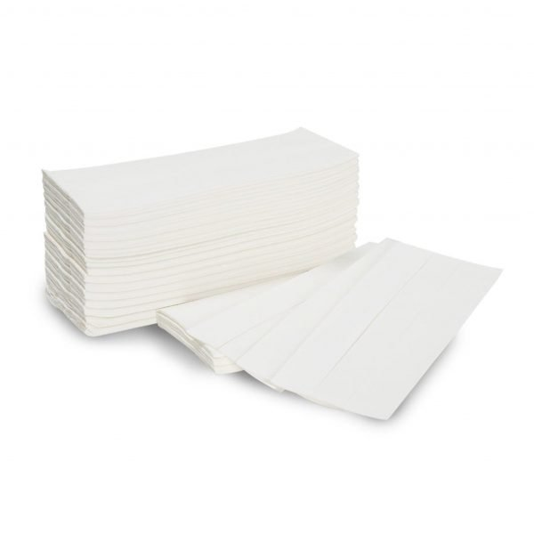 C-Fold White Paper Towels