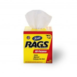 Scotts 200 Ct Rags in a Box
