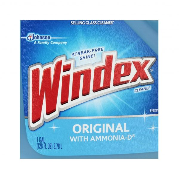 Windex 1 Gal Original Glass Cleaner Refill
