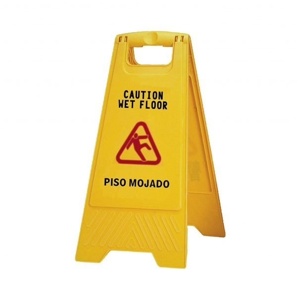 Yellow Wet Floor Sign