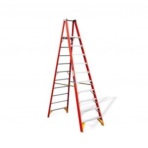 Fiberglass 10 ft Platform Ladder