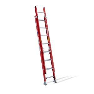 Fiberglass 16 ft Ext Ladder 300 lb