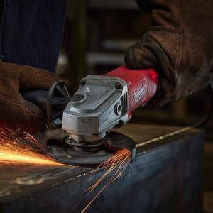Milwaukee 7a 4-1/2 in Small Angle Grinder