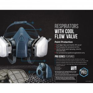3M Half Facepiece Reusable Respiratory - R7512 Medium