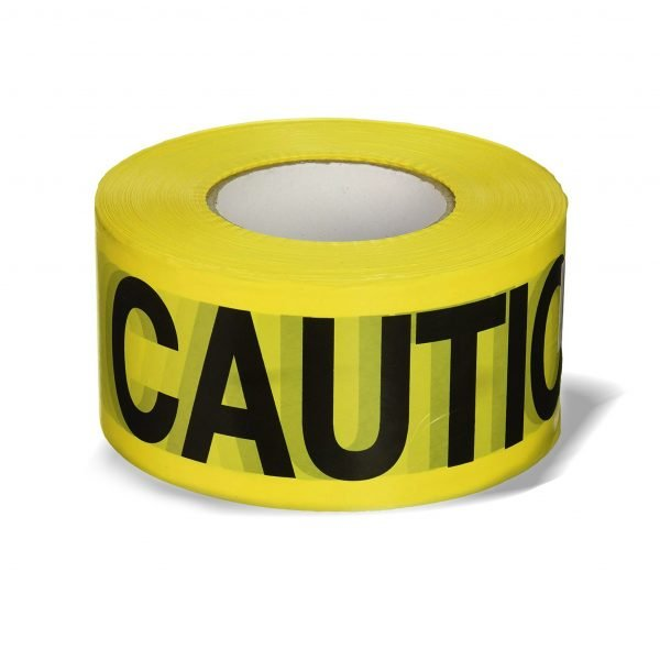 Caution Tape - 3 in x 1000 ft