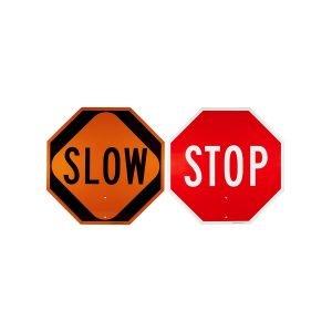 Traffic Paddle Stop/Slow