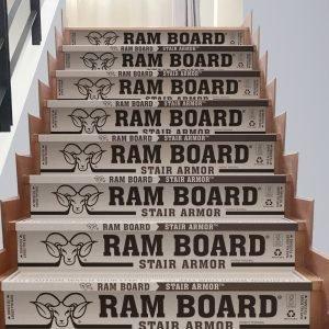 """Ram Board Stair Armor 34"""" x 19"""" (6 Stair Protectors)"""