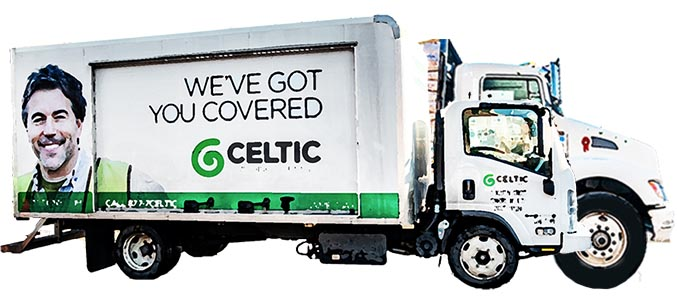 Celtic Same Day Delivery