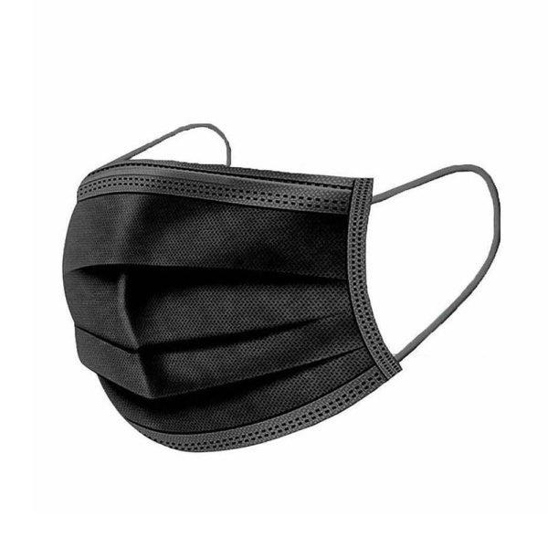 Black Surgial Masks 50 pack