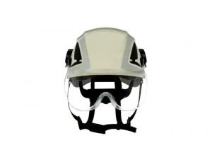 3M Short Visor for X5000 Safety Helmet, X5-SV01-CE clear