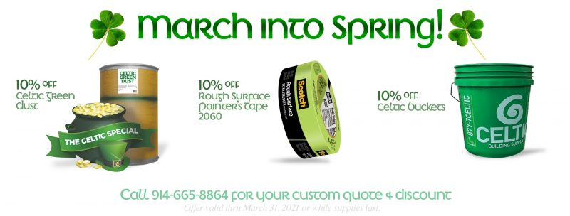 Celtic Monthly Specials March 21
